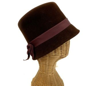 Vintage Velour Womens Hat